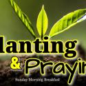 Planting & Praying - Wed