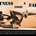 Fitness, FOOD, & Faith... (Part 2)